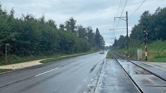 Der Radweg wird neu rechts neben dem «Seetaler» geführt.