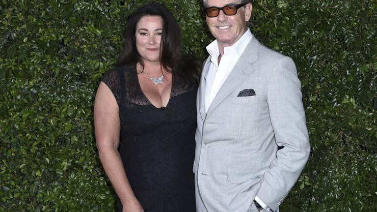 Der einstige James-Bond-Darsteller, Pierce Brosnan, ist gemäss eines Interviews gerne von starken Frauen umgeben und zeigt sich gerne mit seiner Frau Keely Shaye Smith. (Archivbild)