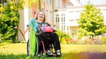 Die Bewohnerin des Regionalen Pflegezentrums Baden, Mirella Merigo, freut sich auf die Zirkus-Theaterwoche.  Sandra Ardizzone