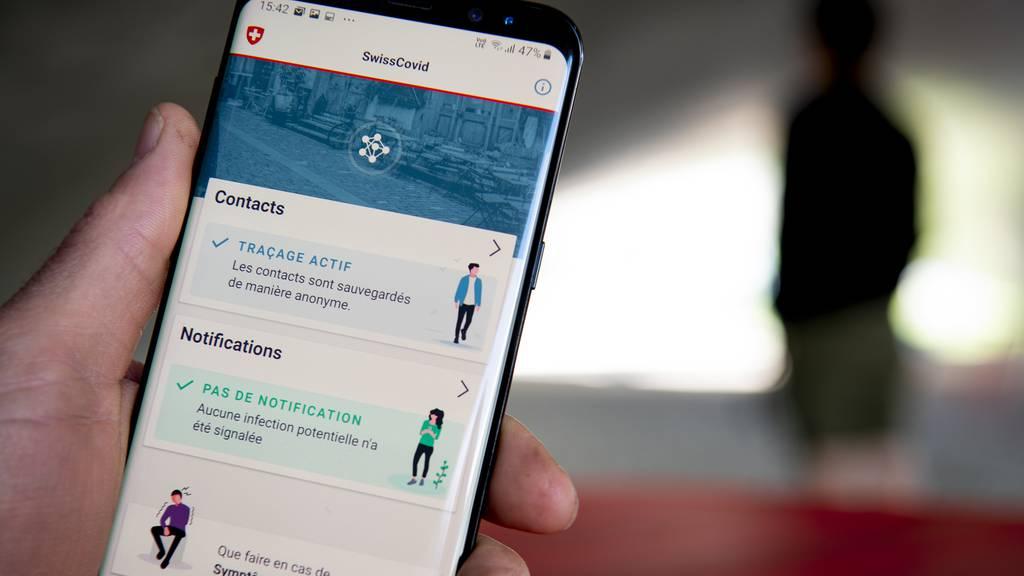 Die Corona-Fallzahlen steigen, die Nutzerzahlen der SwissCovid-App stagnieren