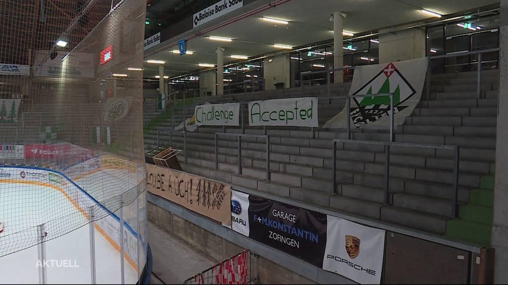 SC Langenthal steht nach Geister-Derby im Halbfinal