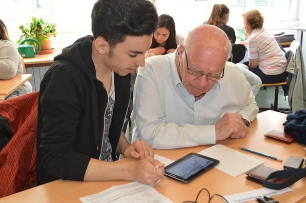 Auch Tablet-Nutzer kommen beim Kurs auf ihre Kosten.