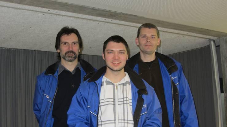 Pistole Elite-Gruppe: 1. AGSV 1 (Vögele Stefan, Vock Thomas, Grossen Dieter)