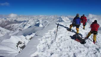 Aargauer Medizin-Forscher auf 7126-Meter-Gipfel
