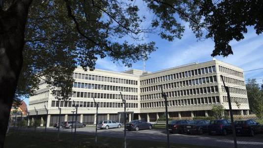 Sicht auf den Sitz des VBS und des Nachrichtendienstes in Bern