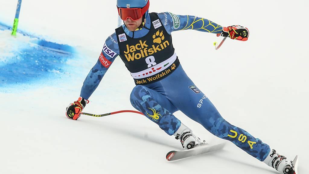 Ryan Cochran-Siegle holt sich mit einer bestechenden Fahrt seinen ersten Weltcupsieg