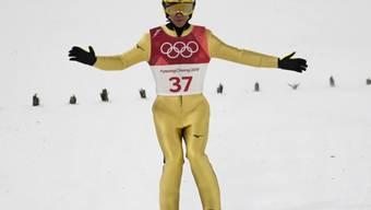 Noriaki Kasai will noch ein weiteres Mal die olympischen Ringe auf der Brust tragen