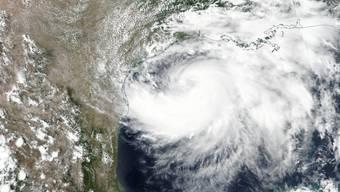 """Hurrikan """"Hanna"""" bewegt sich durch den Golf von Mexiko."""