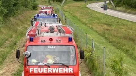 487 Einsatzkräfte und Privatpersonen haben am Wochenende einen 63-Jährigen aus Laufenburg-Hochsal gesucht.