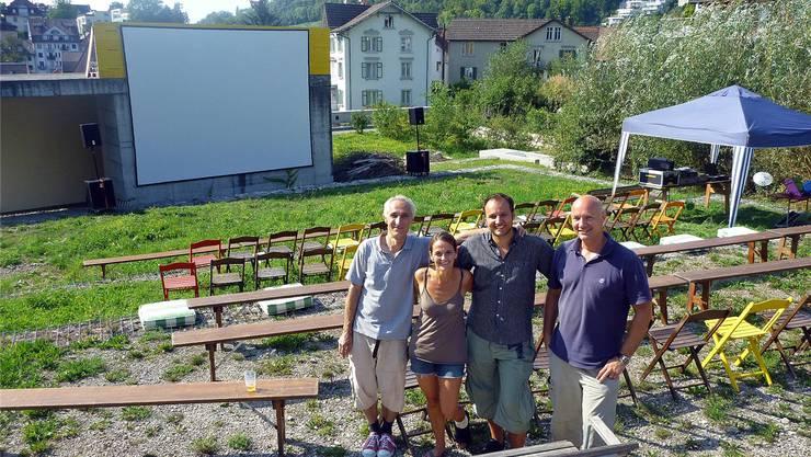 Das Organisationskomitee, von links: Hansjörg Etter, Britt Wetzel, Danjel Cekic und Michael Schaefer. DPO