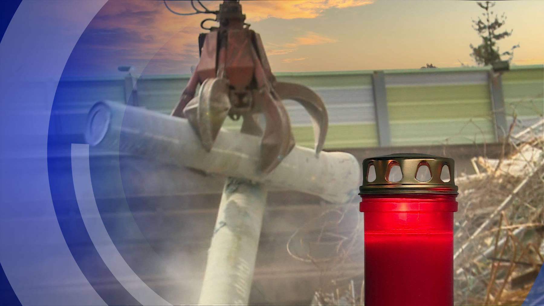 Toedlicher Arbeitsunfall 54-Jähriger wird in Rothrist von Schrottteil erschlagen