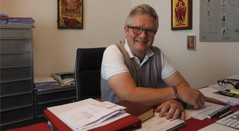 Pfarrer Johannes Siebenmann.