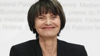 """Micheline Calmy-Rey soll im Kosovo als """"Botschafterin des Friedens"""" mit einem Platz geehrt werden (Archiv)"""