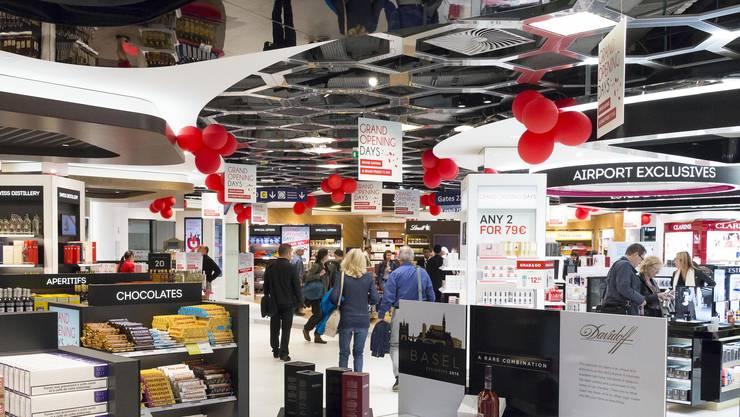 Die Dufry Filiale im EuroAirport (5)
