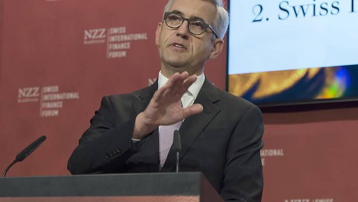 Verschärfte  Marktbedingungen: Ulrich Spiesshofer, CEO von ABB (Archivbild).