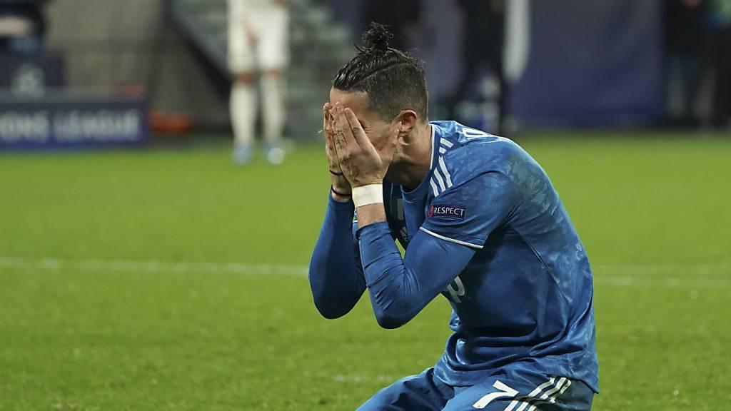 Juventus' Cristiano Ronaldo befindet sich auf Madeira in Quarantäne.