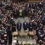 Die Stunde der Wahrheit: Das britische Unterhaus spricht sich mit grosser Mehrheit für Neuwahlen am 12. Dezember aus.