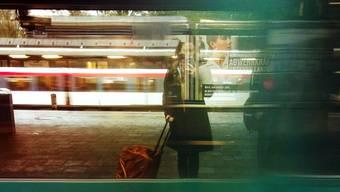 Inspirationsquelle für Gedichte:  Der Bahnhof, Ort des Abschieds und der Ankunft.