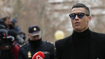 Ronaldo vor Gericht in Madrid