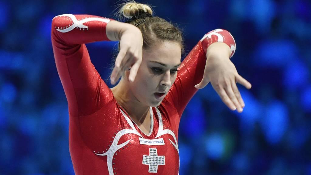 Giulia Steingruber bestreitet erstmals seit dem Swiss Cup Zürich 2019 wieder einen Wettkampf