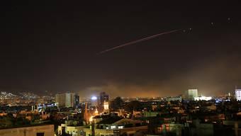 Israelische Kampfflugzeuge haben am Donnerstagabend mehrere Ziele in Syrien bombardiert. Das berichtete die oppositionsnahe Syrische Beobachtungsstelle für Menschenrechte (Symbolbild)