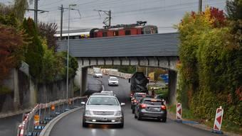 Die Sanierung der Kantonsstrasse in Münchwilen läuft nach Plan.