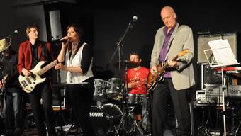 Gogo Frei bei einem Konzert im «Fabrikli» in Bottenwil.