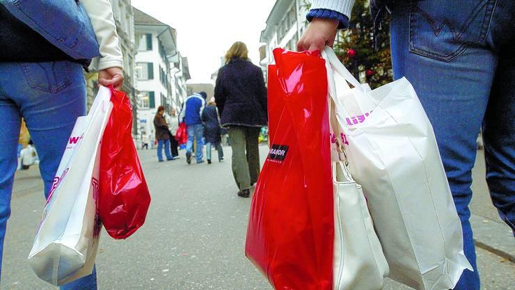 Einkaufen: Im nächsten Jahr an vier Sonnatgen möglich? Hanspeter Bärtschi