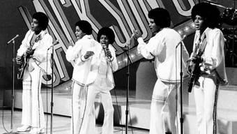 Die Jackson Five 1972 mit Michael in der Mitte