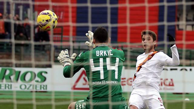 Adem Ljajic schoss die AS Roma in der 37. Minute in Front