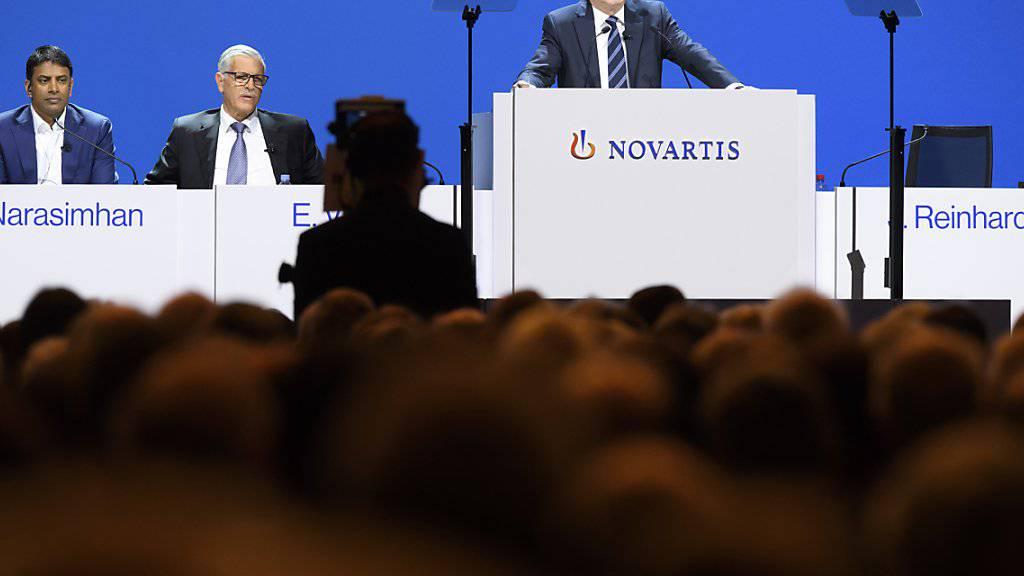 Die Auszählungspraxis der Aktionärsstimmen bei Novartis wirft Fragen auf. (Archiv)