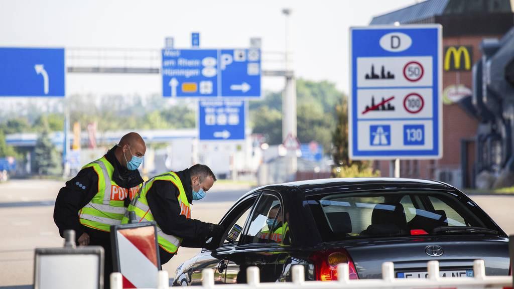 Deutsche Bundespolizei stoppt zahlreiche Schweizer Einkaufstouristen