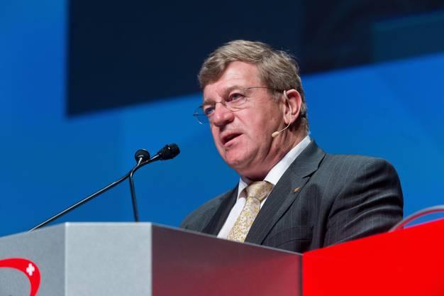 (Alexander Barth, Rivella-Verwaltungsratspräsident, an den KMU Swiss Forum 2014 im Trafo in Baden)