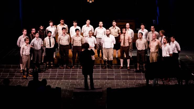"""Basler Männerchor """"Männerstimmen"""" gewinnt Chor-Olympiade."""