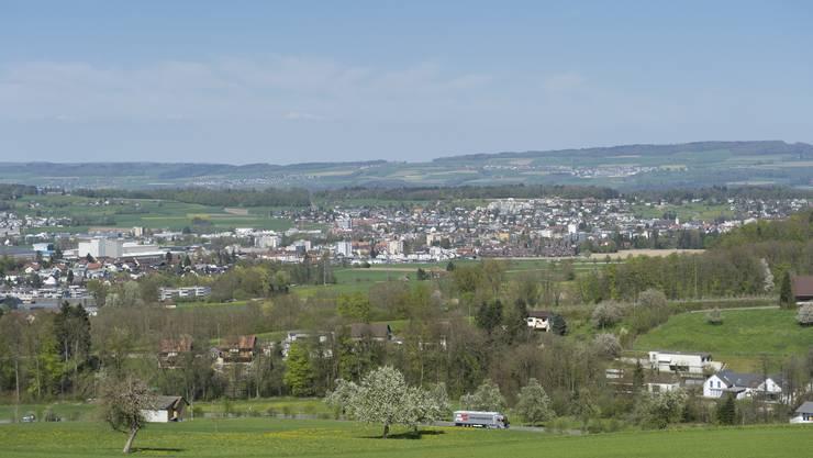 Die Agglomeration Wohlen mit der Zentrumsgemeinde Wohlen, mit Villmergen und Waltenschwil wächst stürmisch.