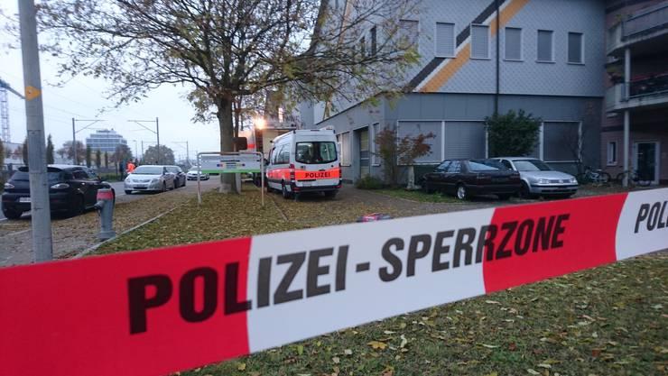 Razzia in der An'nur-Moschee: Die Kantonspolizei Zürich durchsuchte im November 2016 zusammen mit der Stadtpolizei Winterthur die An'Nur-Moschee.