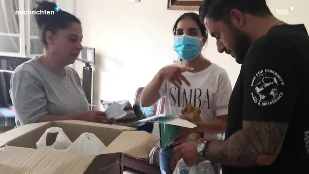 Hilfe für Beirut aus Baar