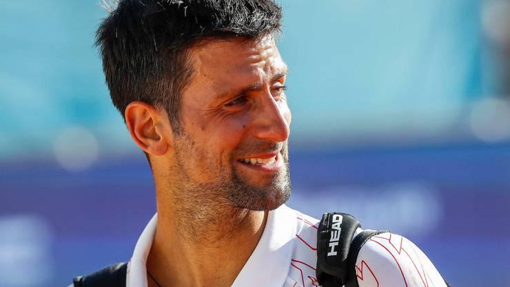 Novak Djokovic war in Belgrad zu Tränen gerührt.