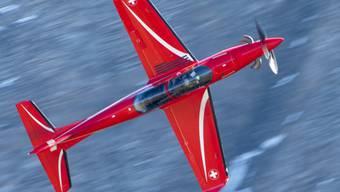 Der Schweizer Flugzeughersteller Pilatus verkauft 24 seiner PC-21 Trainingsflugzeuge für 200 Millionen Euro an die spanischen Luftstreitkräfte. (Archiv)