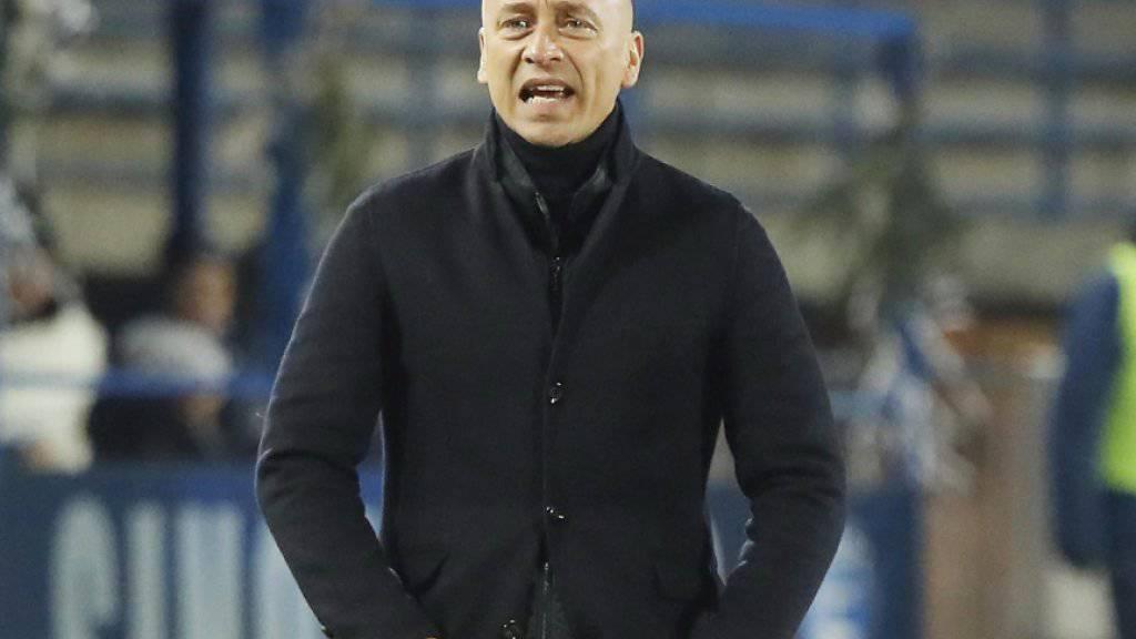 Die Zeit von Eugenio Corini als Trainer des Serie-A-Klubs Palermo ist abgelaufen
