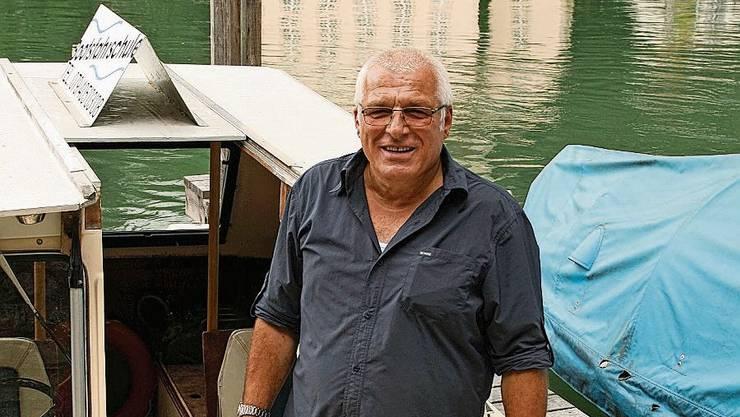 Markus Joho auf dem Schulschiff in Kaiserstuhl.