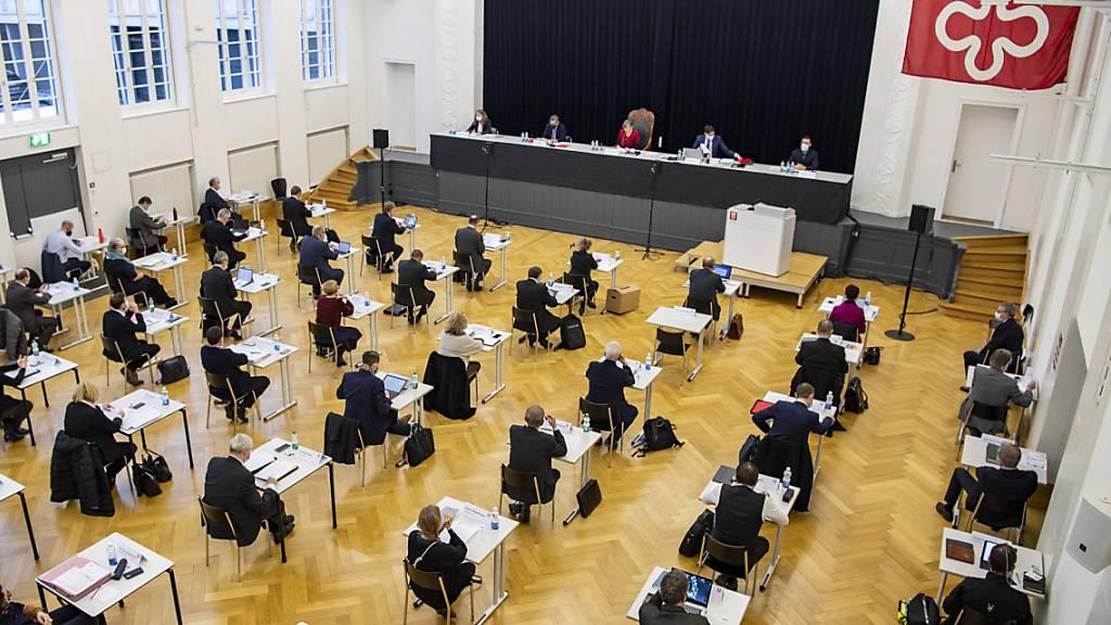 Die Zusammensetzung des Nidwaldner Landrats wird im März 2022 neu festgelegt. (Archivbild)