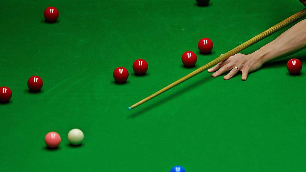 Die Kugeln auf dem Snooker-Tisch rollten nicht für Alexander Ursenbacher