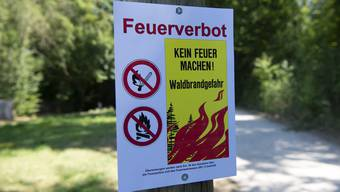 Sissach erlässt per sofort absolutes Feuerverbot im Wald und in Waldrandnähe.