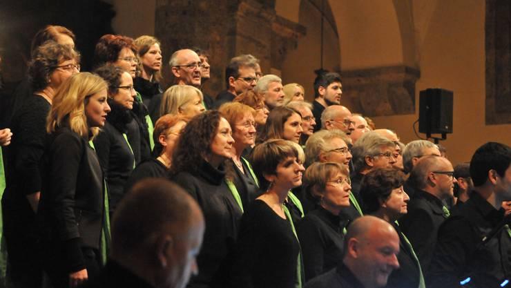 Das Konzert des Gospelchors «Spirit of Hope» hat in Baden für «Standing Ovations» gesorgt.