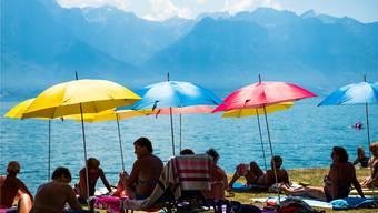 Zeit zum Geniessen, nicht nur am Genfersee: Am Wochenende kommen die ersten Hitzetage – dabei war der Mai der kühlste seit 30 Jahren.