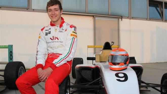 Auf dem Sprung in die Formel 1: Nico Rindlisbacher (20). Foto: HO