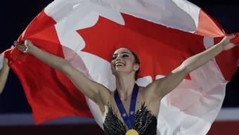 Kanada strahlt: Kaetlyn Osmond gewinnt überraschend Gold bei den Frauen