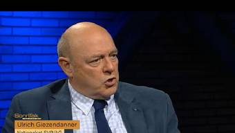 Ulrich Giezendanner in der Sendung Sonntalk.