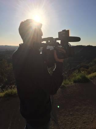 Mit der Kamera in den Hollywood-Hills